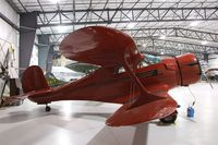 N217SD @ KRXE - Beechcraft D17S Staggerwing at the Legacy Flight Museum, Rexburg ID
