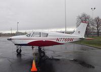 N7769W @ KEUL - Piper PA-28-180 Cherokee C at Caldwell Industrial airport, Caldwell ID