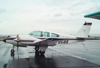 N7958R @ KEUL - Beechcraft D55 Baron at Caldwell Industrial airport, Caldwell ID