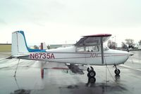 N6735A @ KEUL - Cessna 172 at Caldwell Industrial airport, Caldwell ID