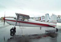N5327D @ KEUL - Cessna 180A at Caldwell Industrial airport, Caldwell ID