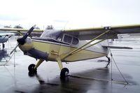 N97851 @ KEUL - Stinson 108-1 Voyager at Caldwell Industrial airport, Caldwell ID