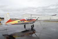 N8743B @ KEUL - Cessna 172 at Caldwell Industrial airport, Caldwell ID