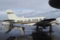N524C @ KEUL - Beechcraft C-45H Tradewind conversion at Caldwell Industrial airport, Caldwell ID