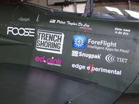N884TD @ AJO - Advertising sponsors