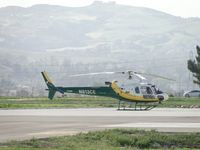 N813CE @ CNO - Parked at the new So Cal Edison hanger - by Helicopterfriend