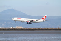 HB-JMB @ SFO - landing at San Francisco - by olivier Cortot