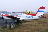 G-WCEI @ EGNH - privately owned - by Chris Hall