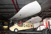 G-ADZW - BAPC253 (G-ADZW), Mignet HM.14 FLYING FLEA, c/n: BAPC253 at Solent Sky Museum , Southampton