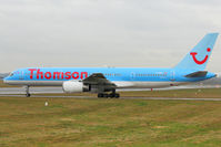 G-OOBJ @ EGBB - Thomson 1993 Boeing 757-2B7, c/n: 27147 - by Terry Fletcher