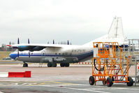 EW-275TI @ EGBB - RubyStar Airline Antonov An-12BK, c/n: 00347210 (ex RA-13392)