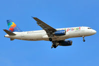 SP-HAB @ GCTS - Small Planet 2001 Airbus A320-232, c/n: 1411