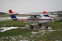 G-BNHJ @ EGLD - Cessna 152 Ex N49418 at Denham - by moxy