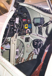 PH-OUQ @ EHGR - SKHV , Cockpit Spitfire - by Henk Geerlings
