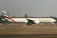 A6-EBA @ EGBB - Emirates 2005 Boeing 777-31H(ER), c/n: 32706