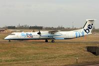 G-ECOF @ EGBB - FLYBE 2008 De Havilland Canada DHC-8-402Q, c/n: 4216
