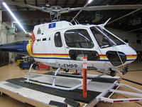C-FMPP - In hanger on dolly platform - by Stuart Prysunka