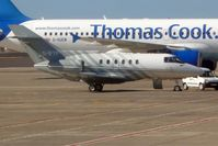 G-IFTF @ GCTS - 1985 British Aerospace BAE.125-800B, c/n: 258021 on Tenerife South apron - by Terry Fletcher