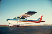 C-GLQA @ YVB - Skyhawk at Bonaventure circa 1975 - by R. V. Dixon