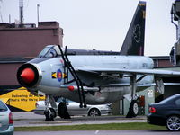 XR753 @ EGXC - 11(F) Squadron gate guard at RAF Coningsby - by Chris Hall