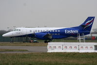 G-MAJG @ EGXC - Eastern Airways Jetstream at RAF Coningsby - by Chris Hall