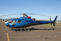 N118MB @ SEE - One of many helicopters parked at Gillespie - by Duncan Kirk