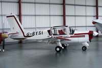 G-BYSI @ EGNE - privately owned - by Chris Hall