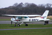 G-BRPV @ EGNE - repainted in a new colour scheme since my last visit - by Chris Hall