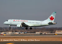 C-FEJL @ PHL -  Air Canada ERJ-175 arriving from Toronto and touching down on 27R at PHL.