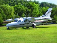 N40JJ @ 3M0 - MU2 Visits Gaston's Airport - by Jim Gaston