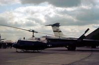 69-6607 - UH-1N Iroquois of the 67th Air Rescue and Recovery Squadron based at RAF Woodbridge on display at the 1981 Intnl Air Tattoo at RAF Greenham Common. - by Peter Nicholson