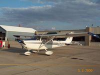 N2505Y @ KGSH - 2505Y at Goshen, IN on 5/2/2000 I Sold 05Y in 2001 an purchased a 1960 Beech Debonair. The Skyhawk was my first plane. Great old bird. - by Dennis Smith