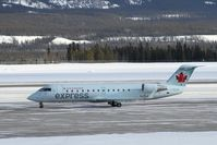 C-GOJA @ CYXY - In her fresh Air Canada Express colours. - by Murray Lundberg