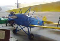 N13271 - Franklin Sport 90 at the Western Antique Aeroplane and Automobile Museum, Hood River OR - by Ingo Warnecke