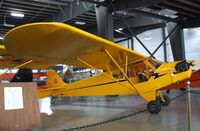 N30210 - Piper J3C-65 Cub at the Western Antique Aeroplane and Automobile Museum, Hood River OR - by Ingo Warnecke