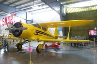 N59832 - Beechcraft D17S Staggerwing at the Western Antique Aeroplane and Automobile Museum, Hood River OR - by Ingo Warnecke