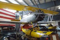N45042 - Naval Aircraft Factory N3N-3 on float at the Western Antique Aeroplane and Automobile Museum, Hood River OR