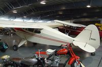 N1418C - Piper PA-22 Tri-Pacer tailwheel conversion at the Western Antique Aeroplane and Automobile Museum, Hood River OR