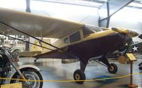 N29840 - Taylorcraft BC12-65 at the Western Antique Aeroplane and Automobile Museum, Hood River OR
