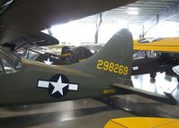 N58726 - Stinson L-5 Sentinel at the Western Antique Aeroplane and Automobile Museum, Hood River OR
