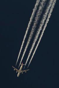 TC-JDN @ NONE - THY7, TC-JDN, Airbus A340-313, IST to IAD over Saarbrücken