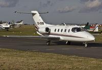 CS-DOB @ EGSH - Arriving at SaxonAir. - by Matt Varley