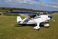G-PAXX @ EGHP - Piper PA-20-135 (Modified) Pacer at Popham. Ex N135XX - by moxy