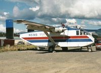 N51NS @ YXY - Photograph by Edwin van Opstal with permission. Scanned from a color print.