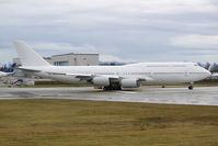 A7-HHE @ KPAE - Seen taking the runway at KPAE was this 747-8K8 BBJ destined for Qatar Amiri Flight. Aircraft would later become the first 747-8I series delivered. - by Joe G. Walker