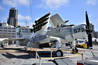127922 - Douglas A-1H (AD-4W) Skyraider 127922 VA-25 - USS Midway Aircraft Carrier 41 - San Diego Museum