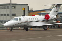 N80HB @ EGMC - Cessna 525C, c/n: 525C0017 at Southend UK