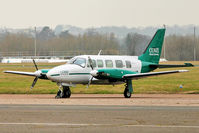OY-CKR @ EGMC - Piper PA-31-350, c/n: 31-7652124 at Southend