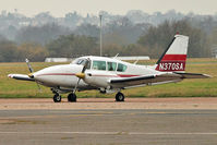 N370SA @ EGMC - 1979 Piper PA-23-250, c/n: 278054005 at Southend