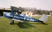 G-AJOA - Universal Flying Services Tiger Moth at Fairoaks C1972 - by Lee Mullins